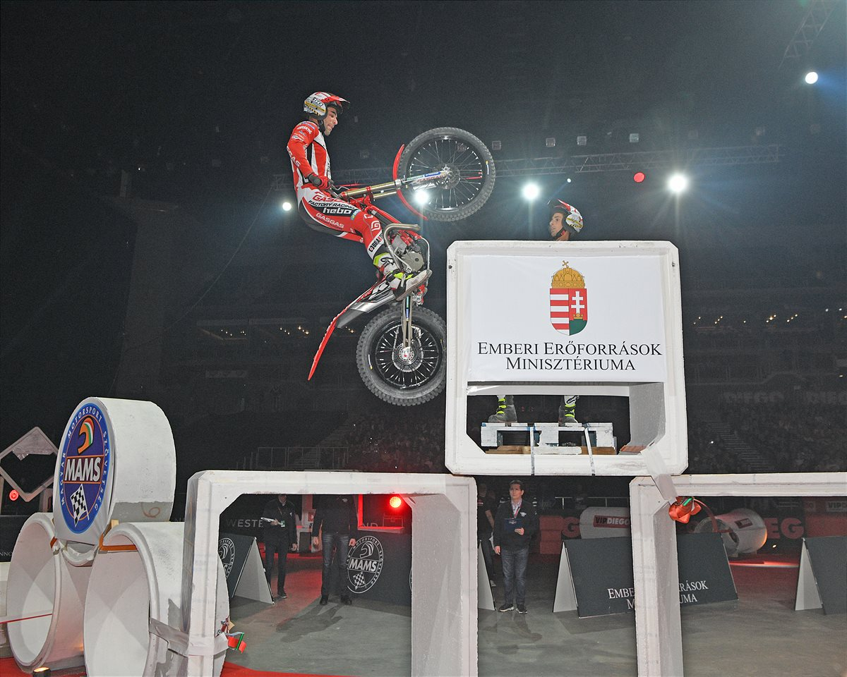Jorge Casales - X-Trial - Budapest, Hungary