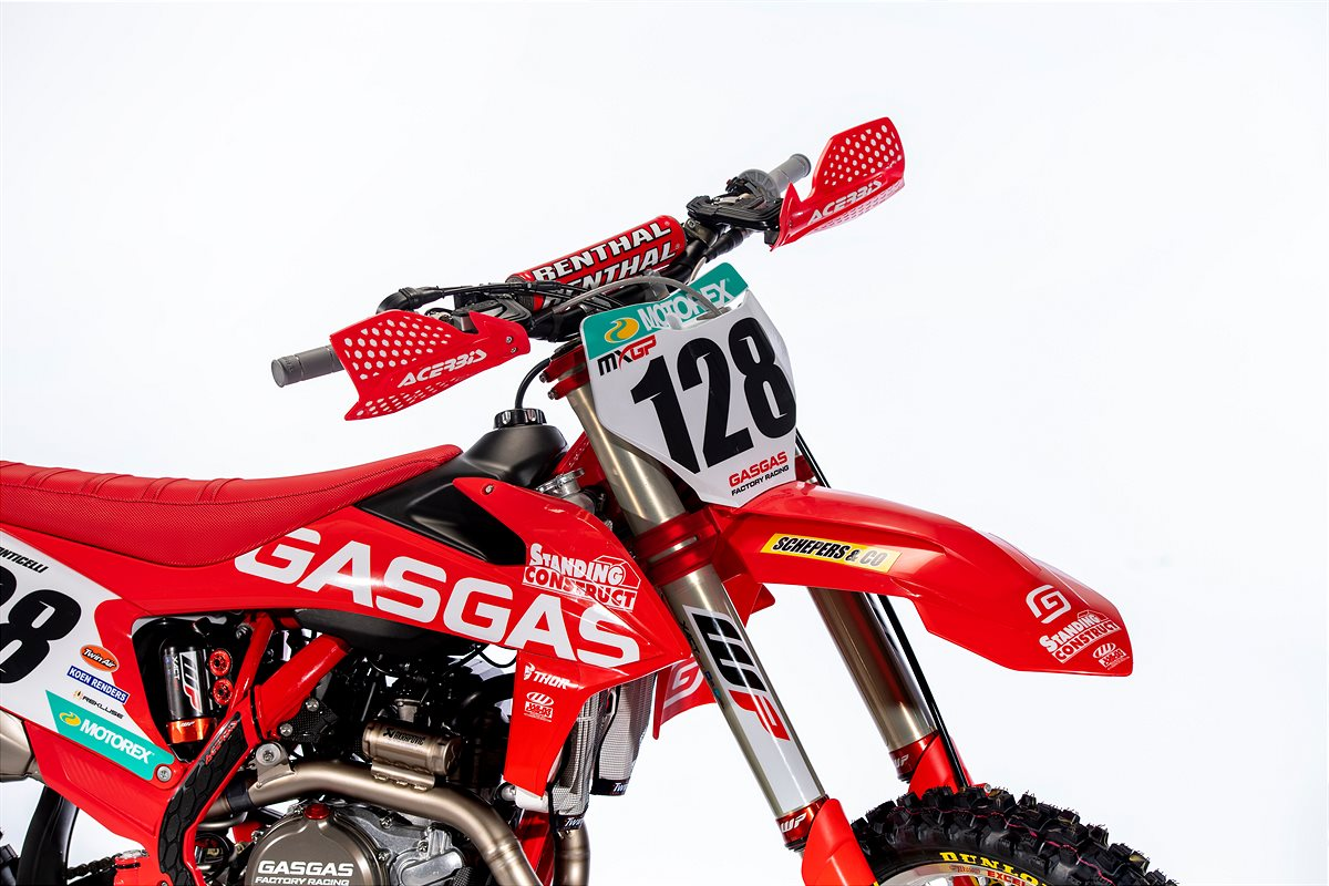 Ivo Monticelli's Standing Construct GASGAS Factory Racing MC 450F